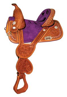 That is a cool saddle, not necessarily the hearts, but the design!