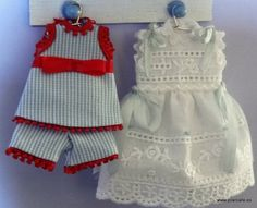 1:12 scale miniature clothes, Dollhouse nursery clothes, 1/12 scale miniatures clothes, dollhouse accesories on Etsy, 10,00 €