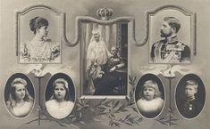 Family of King Ferdinand and Queen Marie of Romania Queen Mary, King Queen, Romanian Royal Family, Royal King, Ferdinand, Reign, Vintage Photos, Royalty, Descendants