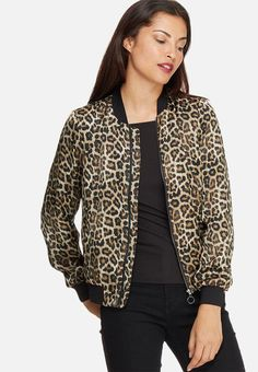 Upgrade your winter wardrobe with pretty prints! Featuring a soft-to-the-touch fabrication, zip closure and ribbing at the collar, hem and cuffs – this bomber will update plain winter looks with statement-making style. Think: black denims, a polo neck and Superstars for an athleisure-inspired look. Polo Neck, Winter Looks, Winter Wardrobe, Black Denim, Athleisure, Superstar, Cuffs, Closure, Touch