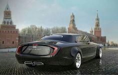Vladmir putin - President Car.