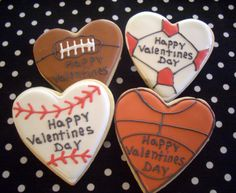 valentine cookies for Austin :)