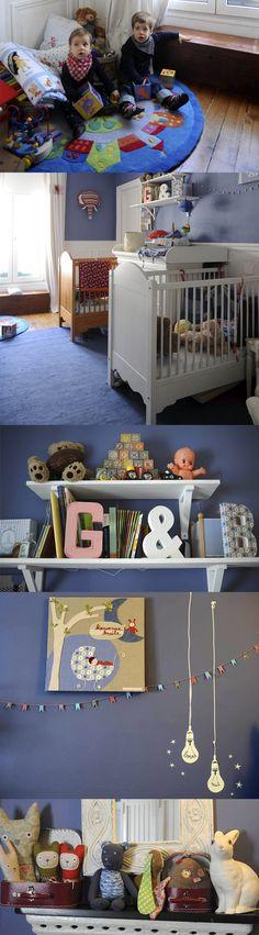 La chambre de Basile & Gustave / Basile & Gustave's room