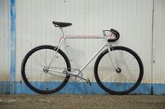 """ComeQuandoFuoriPiove"" hand made Fixed gear by Ferrivecchi cicli"