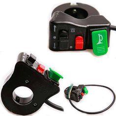 """3 in 1 Light Turn Signal & Horn 7/8"""" handlebar Switch For Motorcycle Bike ATV"""