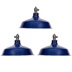 USA Blue Pendant Lights   From a unique collection of antique and modern chandeliers and pendants at https://www.1stdibs.com/furniture/lighting/chandeliers-pendant-lights/