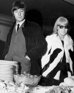 November 6, 1966 - John and Cynthia in Spain.