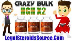 HGH-X2 Somatropinne HGH Review - Crazy Bulk Growth Hormone - http://legalsteroidssource.com/buy-crazy-bulk/hgh-x2-somatropinne-hgh-review/