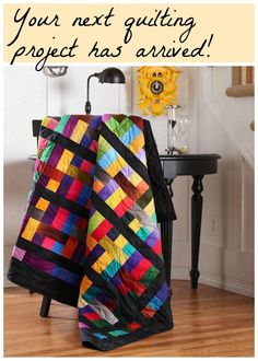 This eye-catching quilt may look complex, but Craftsy makes it easy by bringing you the pattern and fabric needed to make this gorgeous quilt complete! The kit includes a striking pattern and fabric from the lush Gradations collection, featuring a radiant palette with a unique dip-dye effect. Order the kit today and be one-step closer to the endless compliments you'll receive when showing off this beauty.