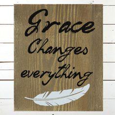 Wooden Grace Wall Art