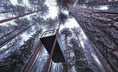 Treehotel, Suecia.