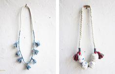 tassle necklace