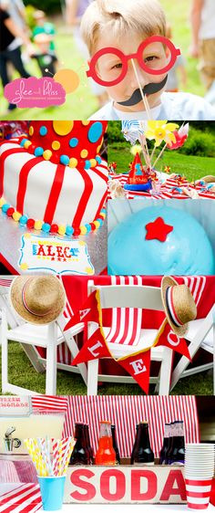 kids carnival birthday party | Carnival party