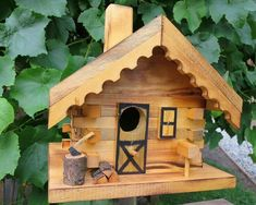 #homemadebirdhouses