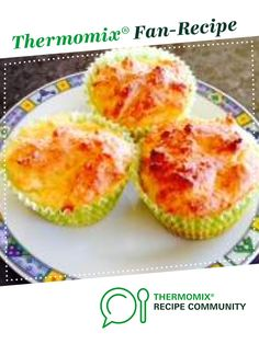 Recipe Cheese Muffins by Dimps, learn to make this recipe easily in your kitchen machine and discover other Thermomix recipes in Baking - savoury. Cake Cookies, Cupcakes, Cheese Muffins, Savoury Baking, Recipe Community, Vegetarian Cheese, Cheese Recipes, Lunch, Snacks