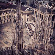 Milano Duomo view