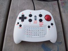 KeyBall controller V2 Front Layout