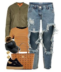 """Untitled #1509"" by power-beauty ❤ liked on Polyvore featuring Topshop, Boohoo, Vince Camuto, OneTeaspoon and MCM"