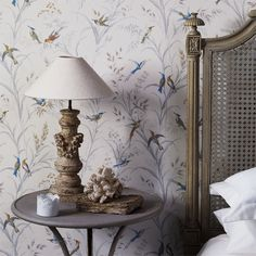 Sanderson - Traditional to contemporary, high quality designer fabrics and wallpapers | Products | British/UK Fabric and Wallpapers | Tuileries (DFAB214083) | Fabienne Wallpapers