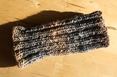 Quick and Easy Fingerless Mitten Pattern