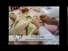 Patchwork - Passo a Passo - Maria Adna - YouTube