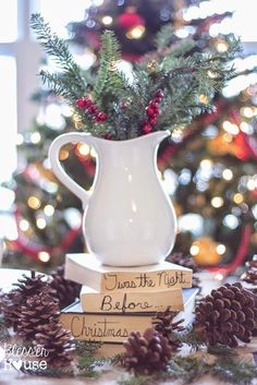 6 Ways to Decorate for Christmas for Next to Nothing - Bless'er House popular pins