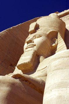 Temple of Ramses II at Abu Simbel, Egypt
