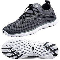 dd8ab1a1ed72 Discounted Zhuanglin Men s Quick Drying Aqua Water Shoes  10MUS  Apparel   Darkgrey  Shoes