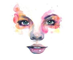 Impressionistic Iris Illustrations : Pavel Guzenko