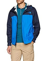 The North Face Men's Venture 2 Jacket - Turkish Sea & Urban Navy - S Ski Fashion, Fashion Wear, Winter Fashion, Sporty Fashion, Fashion Women, Faux Leather Jackets, Leather Men, Parka Style, The North Face
