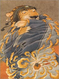 Auntie Tigress and Other Favorite Chinese Folk Tales.   Эва Ван, Тетушка тигрица
