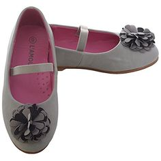L'Amour Toddler Girl 9 Grey Rosette Ballet Flat Style Sho... https://www.amazon.com/dp/B00M3ET3PY/ref=cm_sw_r_pi_dp_x_PTxLybTH4SDC9