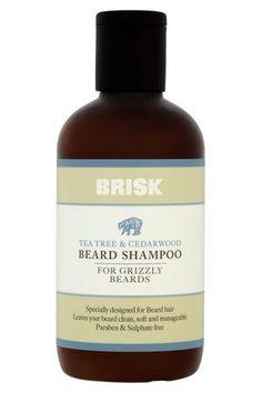 Tea Tree & Cedarwood Beard Shampoo High Res Brandbank Shot May Beard Shampoo, Beard Wash, Beard Grooming, Wash Bags, Tea Tree, Health And Beauty, Conditioner, Fragrance, Cedar Wood