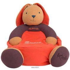 Sofa super relax Lapin Sweet Life de la marque Kaloo! 5% de réduction sur www.doudouplanet.com