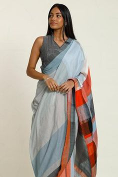 The Morning Blush saree is inspired by the shades of the morning Sky. This Cotton saree is soft and drapes well on your shoulder. There is a slight shine mixed with soft pastels,vibrant orange and elegant black Which can be worn day or night. Indian Skin Tone, Indian Fashion, Womens Fashion, Fashion Marketing, Beautiful Saree, Cotton Saree, Cute Dresses, Blush, Morning Sky