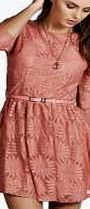 boohoo All Over Zip Back Lace Dress - dusky pink azz55961 Look stunning in this super flattering lace skater dress http://www.comparestoreprices.co.uk/dresses/boohoo-all-over-zip-back-lace-dress--dusky-pink-azz55961.asp