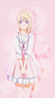 NEKOMA, 27kb: For milkuei ♡ Kaori Miyazono 『Your Lie in...