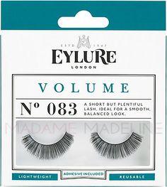 Eylure Naturalites VOLUME N° 083 Strip Lashes has a short but plentiful lash. Sweet and romantic, full lashes without fuss.  #falsies #eylurelashes