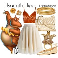 Disney Bound - Hyacinth Hippo