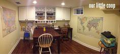 Our Homeschool Classroom!