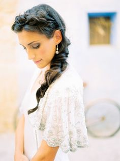 Pretty crown bridal braid