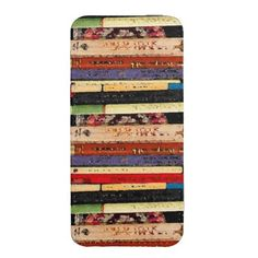 Books Abstract iPhone 5 Smartphone Pouch