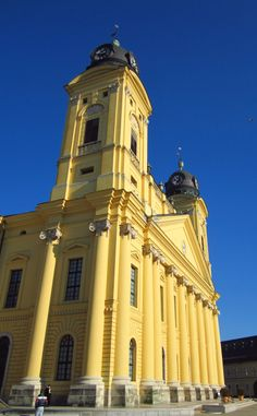 Great Calvinist Church, in Debrecen, Hungary. A Nagytemplom.