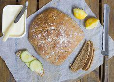 Lemon Spelt Bread by Green Kitchen Stories