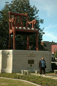 The Big Chair in Thomasville, North Carolina