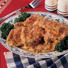 Sour Cream Swiss Steak. It's one of my favorites!