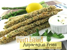 These crispy oven baked asparagus fries are easy to make and a healthy alternative to a deep fried snack!  Pop them in the oven for a great appetizer or side dish along with a steak! The baking time can vary greatly based on the size of your asparagus spears.  The ones I used were quite …