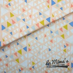 SOLD OUT! - Art Gallery Fabrics | AGF Limited Edition| Mojave Opaque Triangles - la Mima's