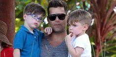 Ricky Martin goza con sus hijos Matteo y Valentino su aventura en Australia - Cachicha.com