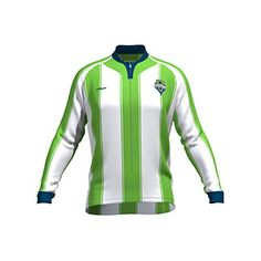 MLS Seattle Sounders FC Womens Original Striped Long Sleeve Cycling Jersey Medium White >>> Click on the image for additional details.